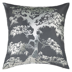Meili Gunmetal Cushion