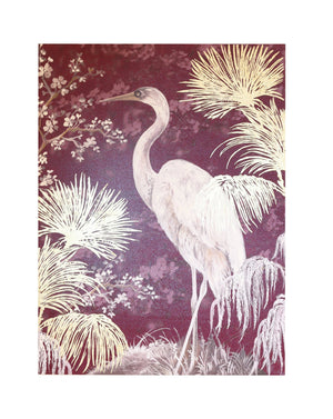 Stork Canvas 8 in