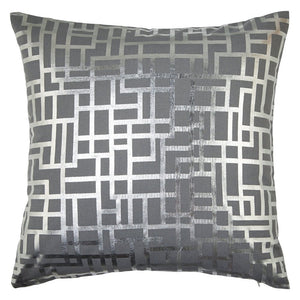 Satoni Silver Cushion Pillow