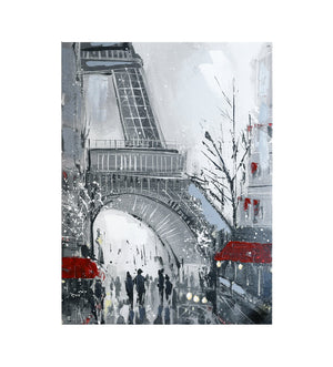 Close up Eiffel Tower Canvas