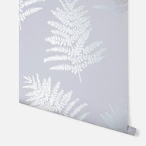 Metallic Fern Silver