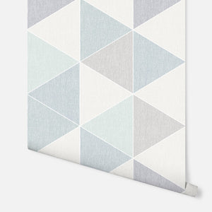 Scandi Triangle Teal