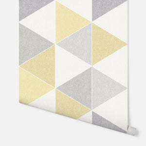 Scandi Triangle Yellow