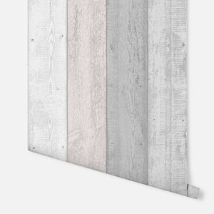 Painted Wood Pink and Grey