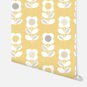 Retro Floral Yellow