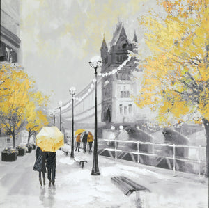 Ochre London Couple Canvas
