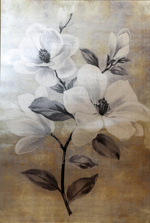 Magnolia Metallic Canvas