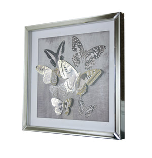 Butterfly 3D Filled Frame