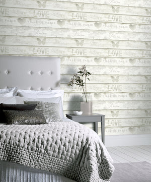Shabby Chic Wood Neutral