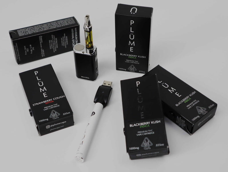 PLÜME Company Drops New Vape Flavors: A Strawberry Cough and A Blackberry Kush