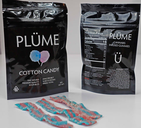 PLÜME Cotton Candy Flavored Edibles