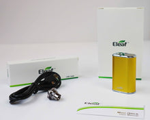 Load image into Gallery viewer, E-Leaf Mini I Stick Metallic Gold Color Full Kit