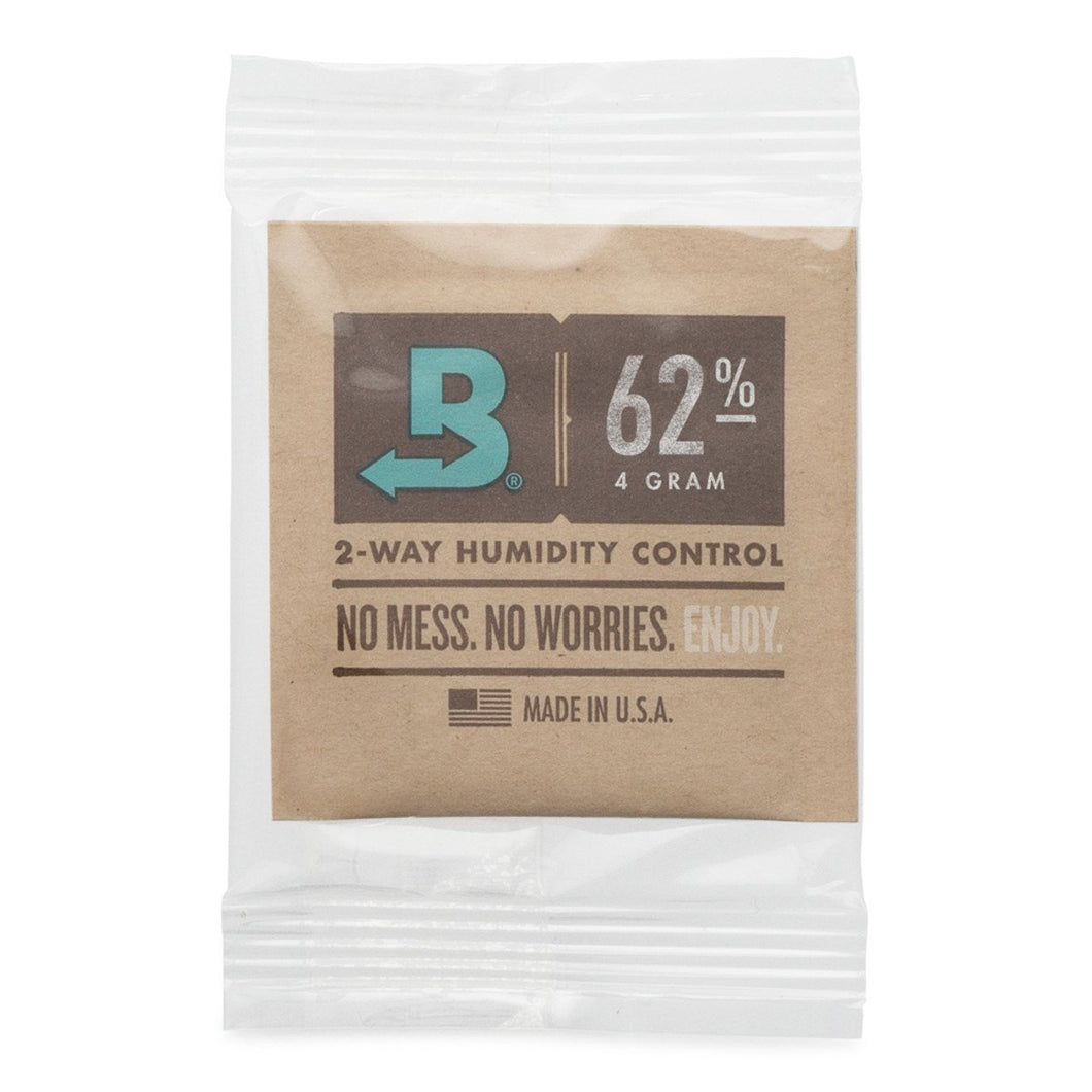 Boveda 62% RH Humidity Packs 8 Gram Size Individually Overwrapped
