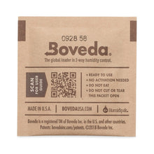Load image into Gallery viewer, Boveda 62% RH Humidity Packs 8 Gram Size Individually Overwrapped