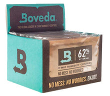 Load image into Gallery viewer, Boveda 62% RH Humidity Packs 67 Gram Size Individually Overwrapped
