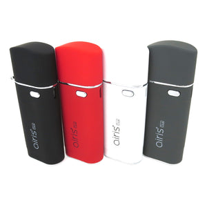 Black White Red and Grey Airis Tick Discreet Vape Batteries