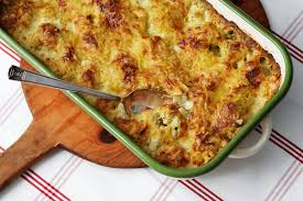 Low-carb Cauliflower Cheese