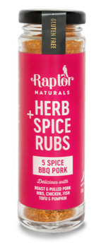 5 Spice BBQ Pork Rub