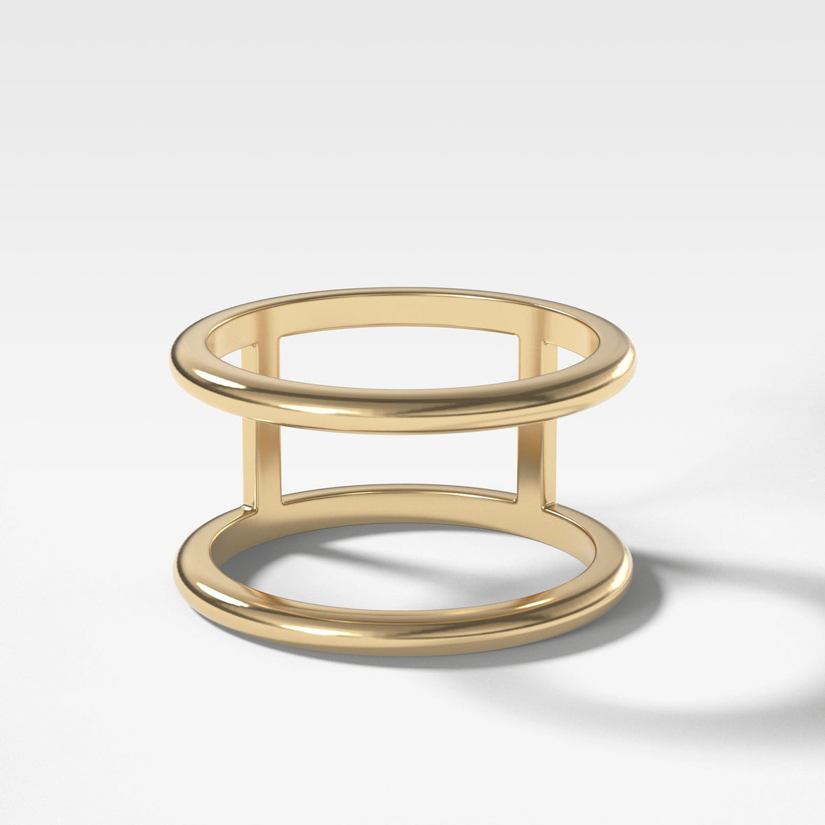 Gap Stacker In Yellow Gold By Good Stone