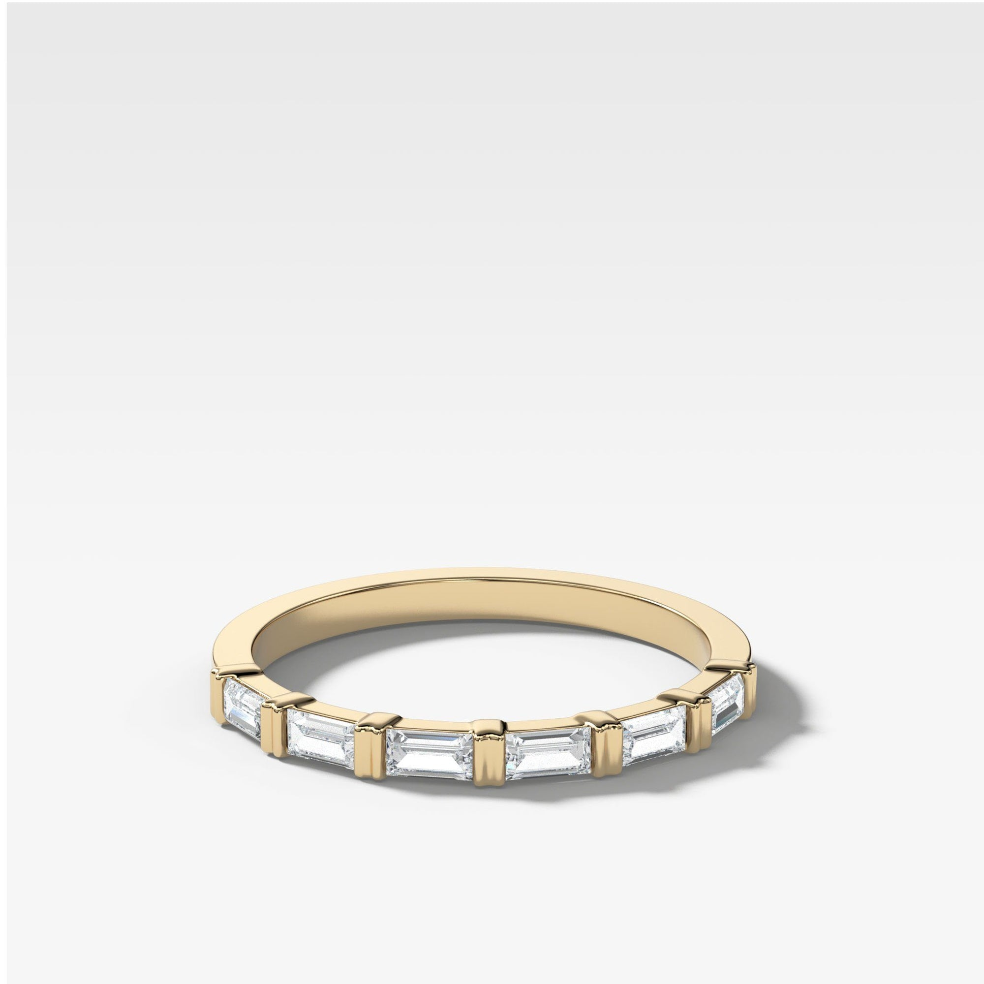 Dainty Baguette Stacker Rings Good Stone Inc