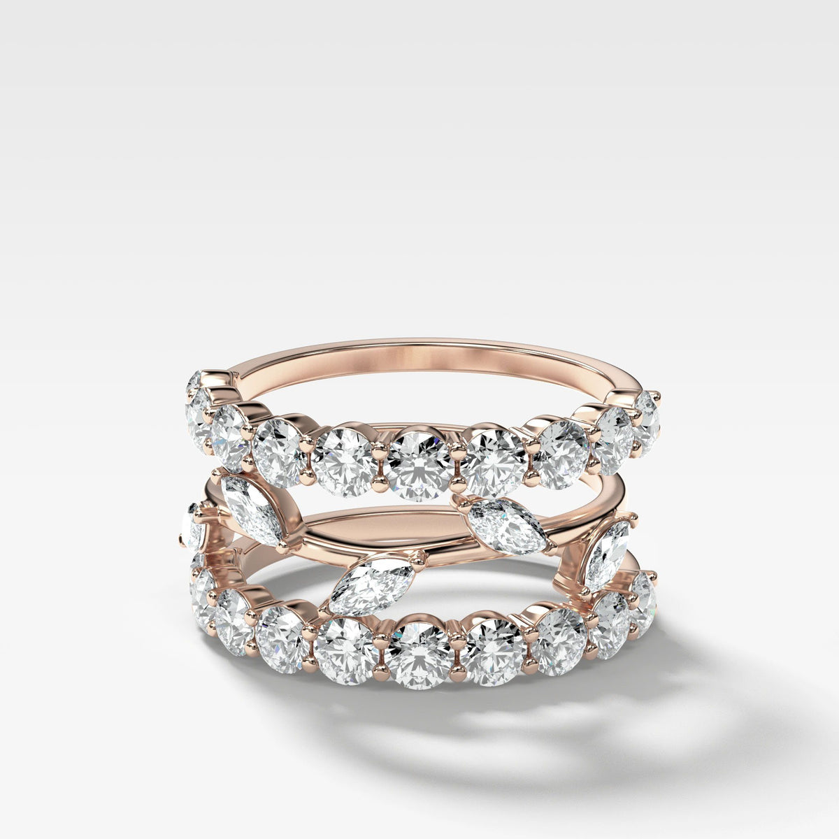 Good Stack no. 1 in Rose Gold by Good Stone