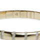 18KT YELLOW GOLD AND DIAMOND ROBERTO DEMEGLIO BRACELET
