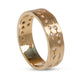 VINTAGE 27-DIAMOND BAND RING, 18KT YELLOW GOLD
