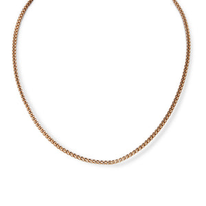 VINTAGE 14KT YELLOW GOLD BOX CHAIN