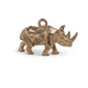 VINTAGE ENGLISH 9KT RHINO CHARM