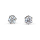 DIAMOND STUD EARRINGS 3.O4CTS