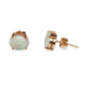 VINTAGE 14KT YELLOW GOLD AND OPAL EARRINGS