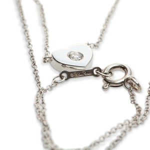 TIFFANY & CO. SILVER & DIAMOND NECKLACE