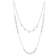 18KT ROUND ROSE CUT DIAMOND NECKLACE