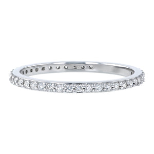 14KT DIAMOND ETERNITY BANDS WITH .33CTS