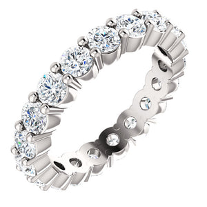 1.32CT PLATINUM & DIAMOND ETERNITY BAND