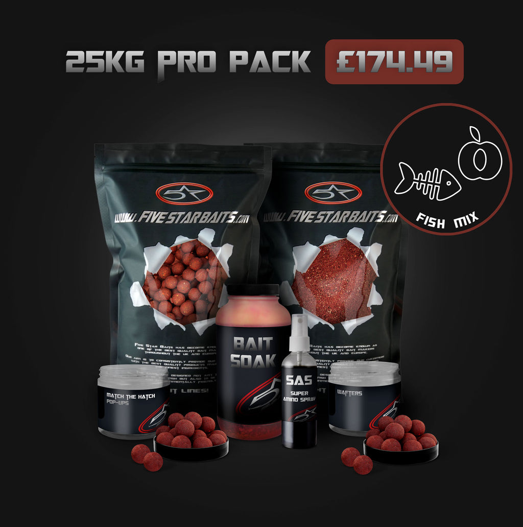 Fish Mix 25KG PRO PACK Bundle