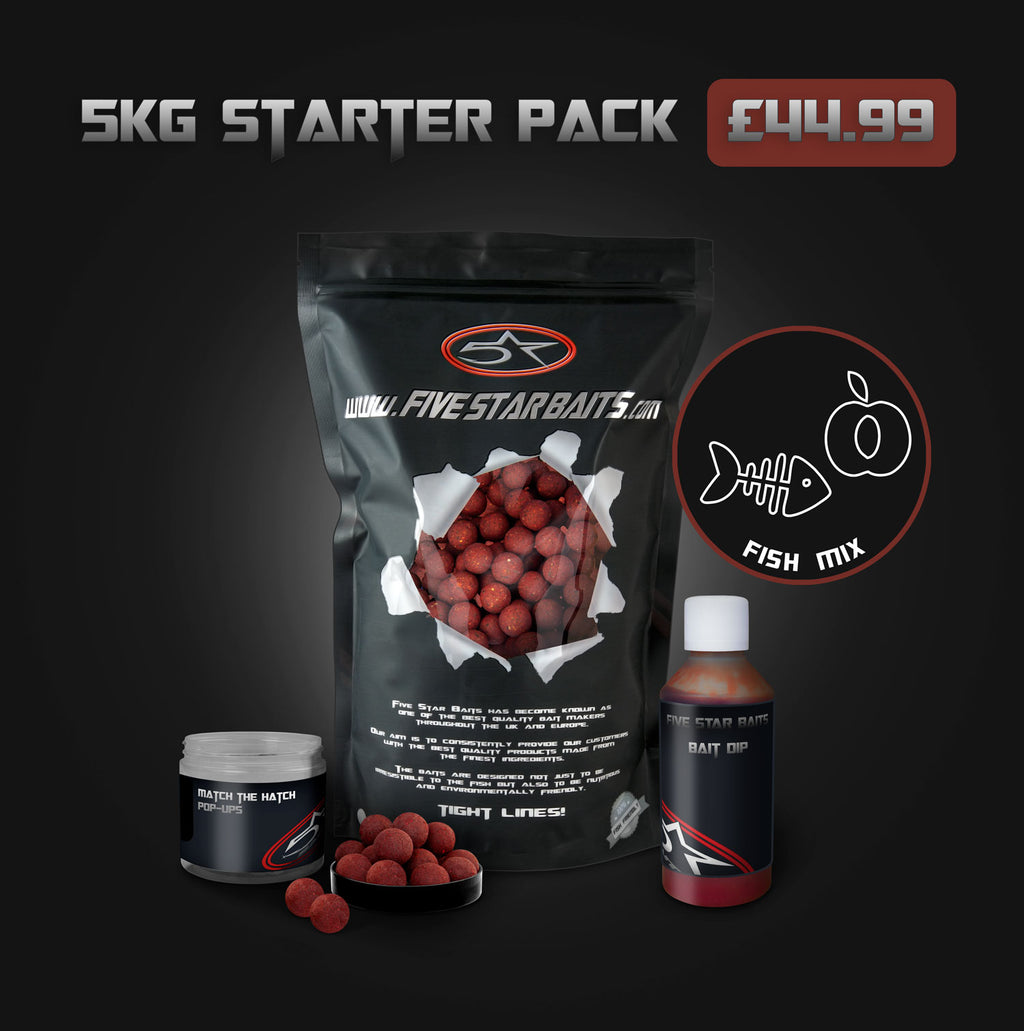 Fish Mix 5KG STARTER PACK Bundle