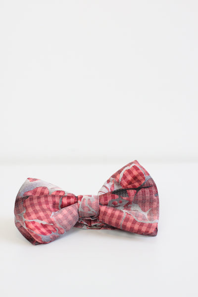 Bow Tie Red Gingham