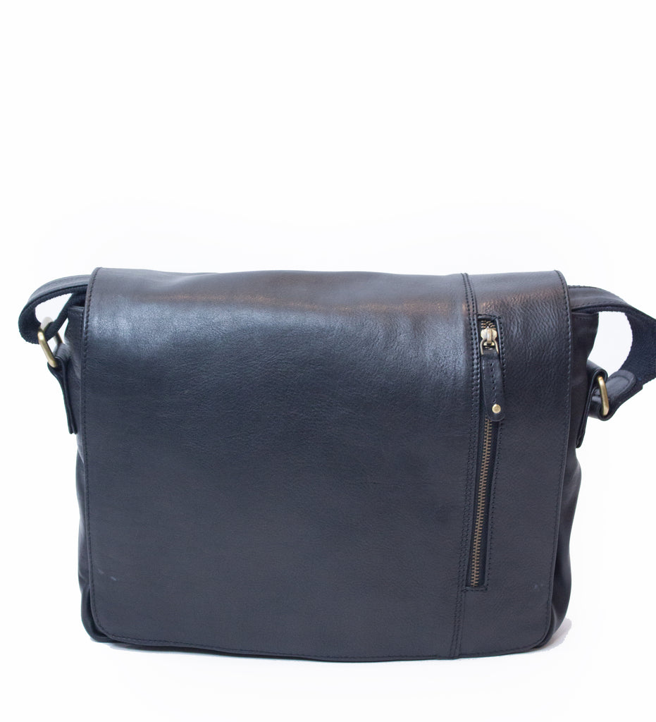 Messenger Bag Medium Black