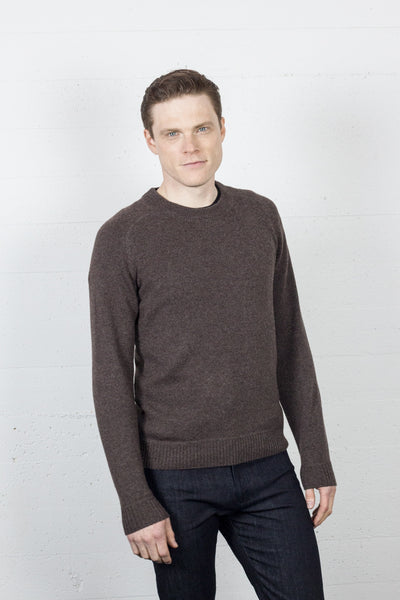 Raglan Sleeve Crew Molasses