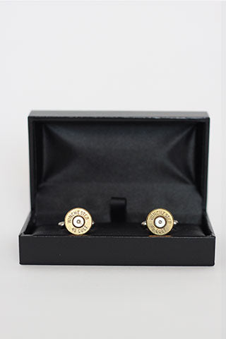 Cufflinks Bullet Brass