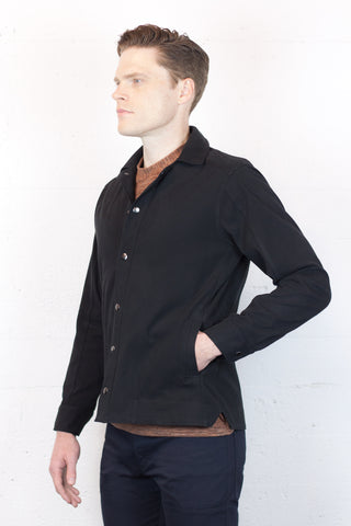 Black Twill Camaro Jacket