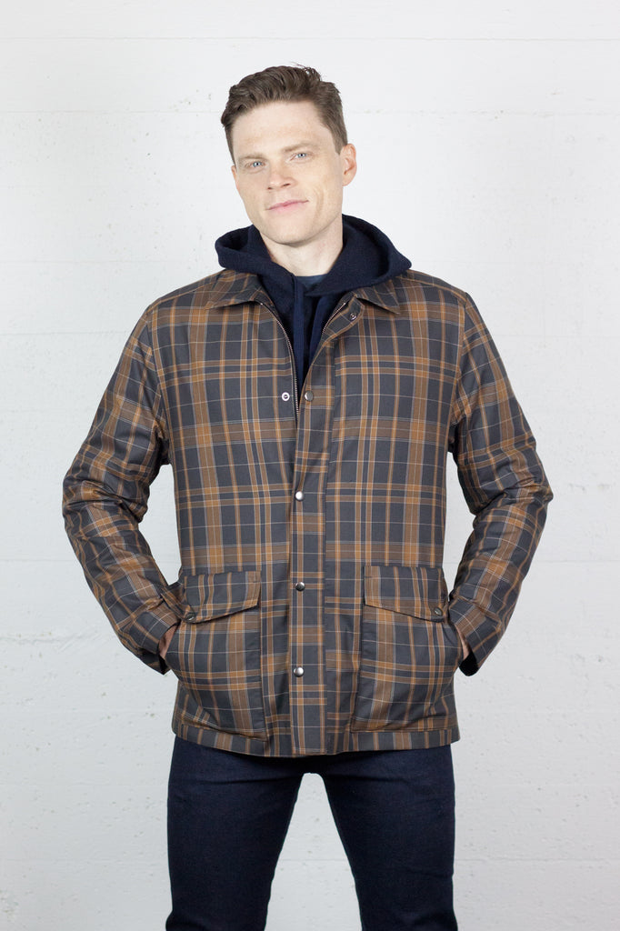 Parka Chestnut Check
