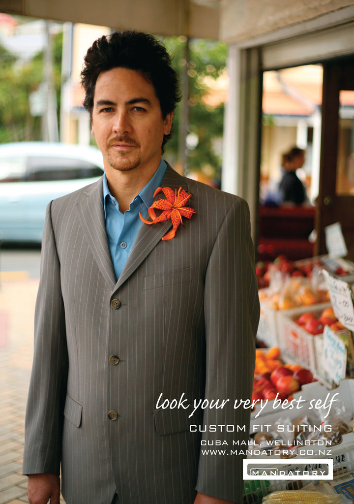 Look Your Very Best Self - Custom Suit Campaign
