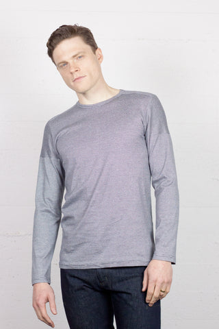 Crossroads Long Sleeve Crew - Pepper