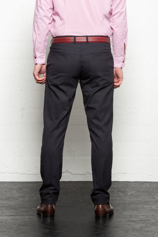 Hendricks Navy Wool Trousers