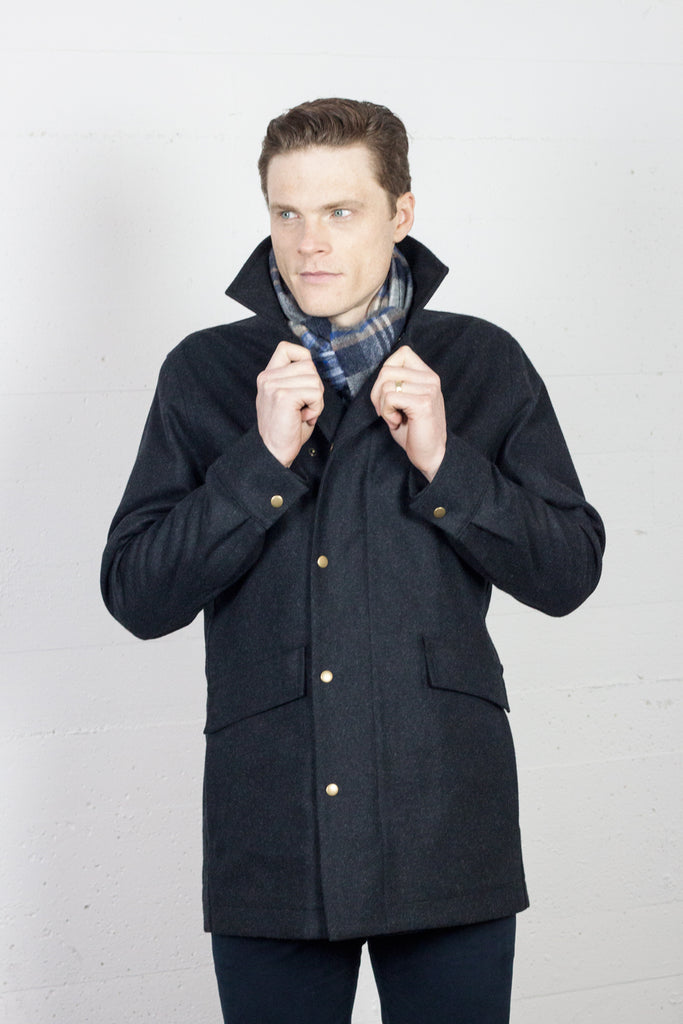 Orion Coat Coal