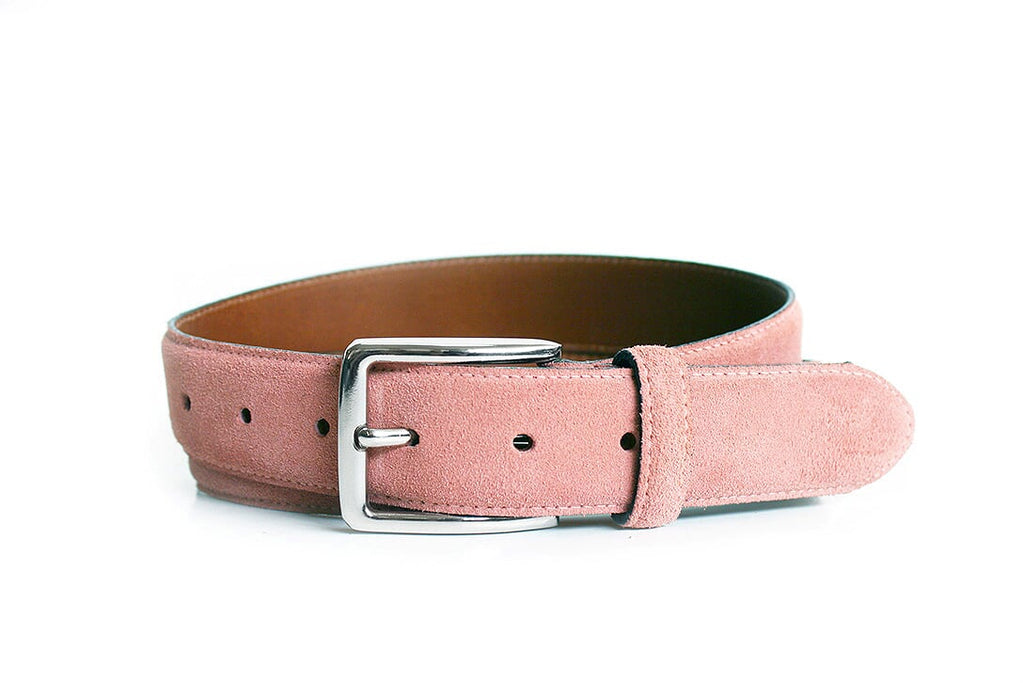 Dress Belt Suede Rose