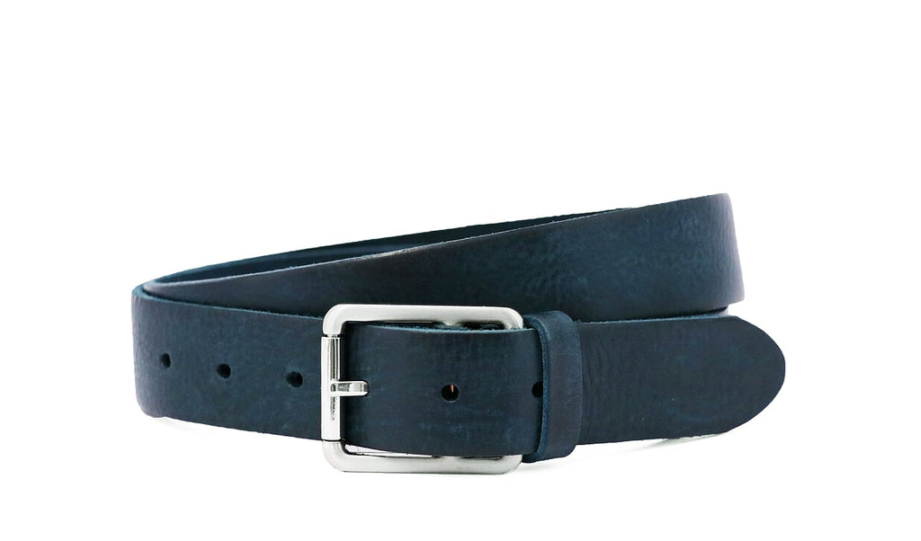 Dress Belt Italian Navy