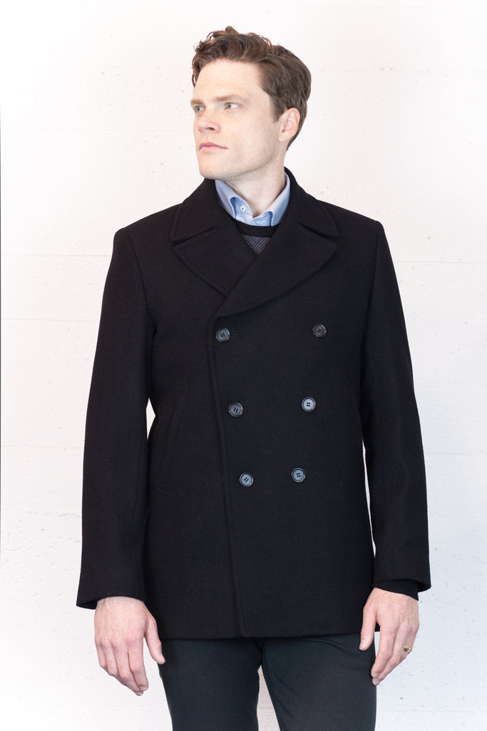 Coat DB Black Trench